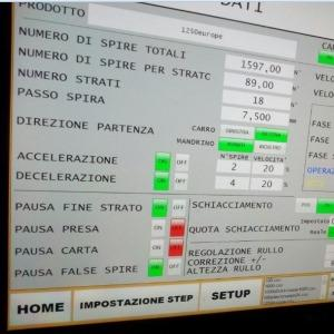 supervisore bobinatrice automatica