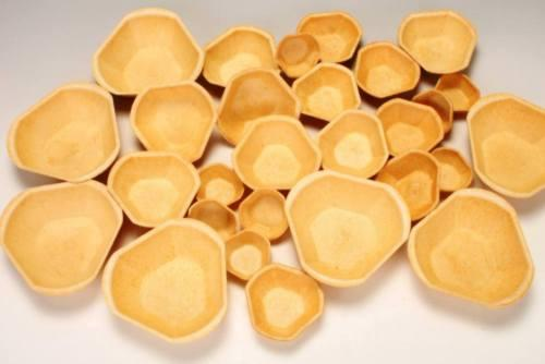 Füllett, knusprige Cups für vielseitige Anwendung
