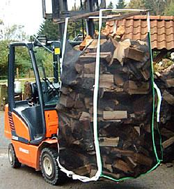 Big Bag für Holz