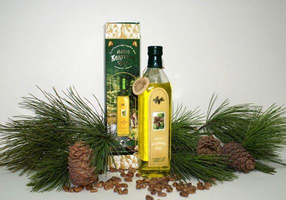 Cedar nut oil 500 ml