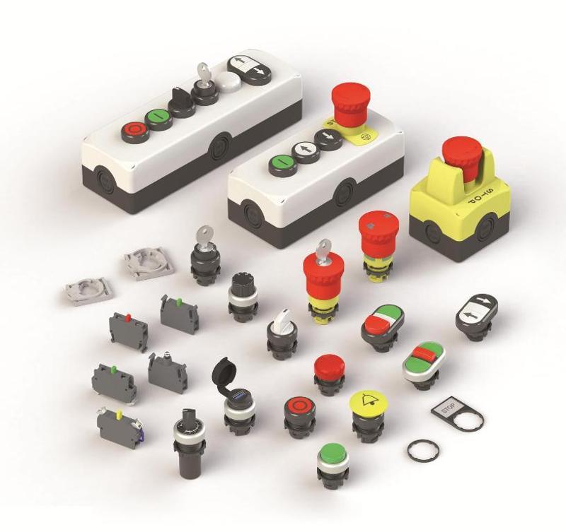 Schalter - Maschinensicherheit   -  Verriegelungseinheiten   -  Positionsschalter   -  Seilzugschalter   -  Mikro- u. Aufzugschalter