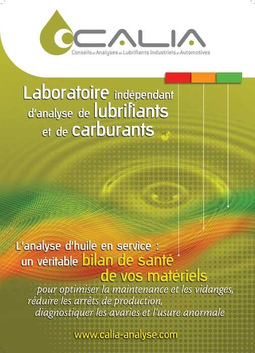 Calia laboratoire d 39 analyse industrielle analyse for Laboratoire d analyse salon de provence