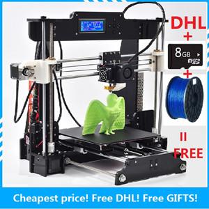 new fdm 3d printer chinese diy 3d printer open source prusa i3 desktop large 3d