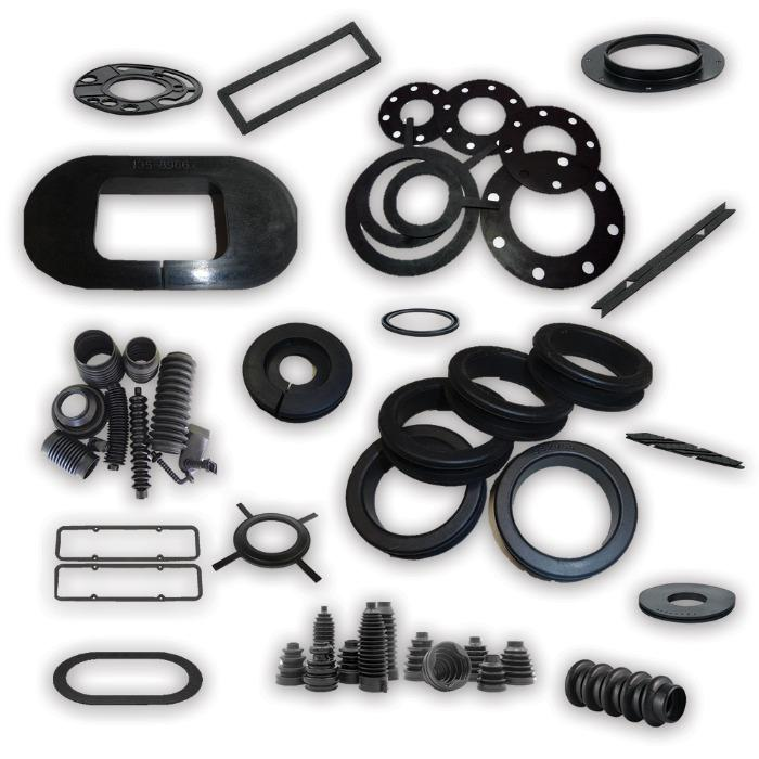 Customized Rubber Moulded Parts