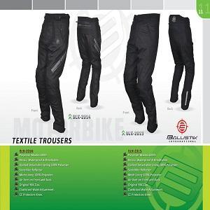 Motorbike/Motorcycle Textile Pants