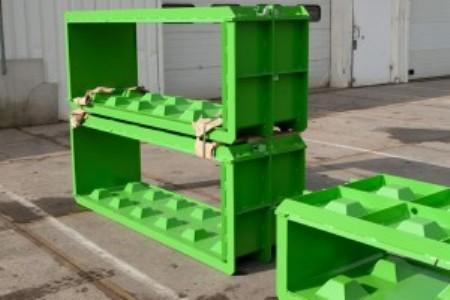 Moulds for concrete lego blocks