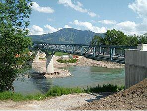 Brückenbau Illertalbrücke / Immenstadt