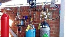Hydraulic and gas pipe work