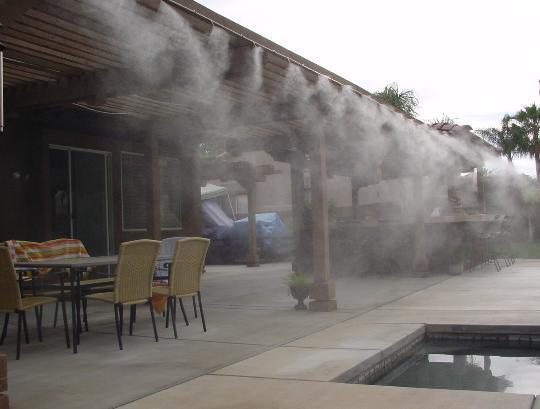 система за водна мъгла AQUA FOG 1