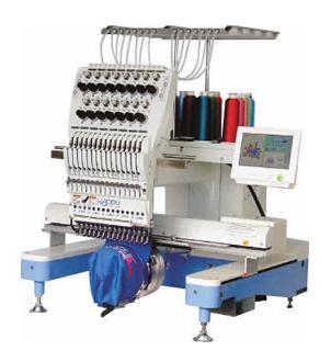 Einkopf Stickmaschine