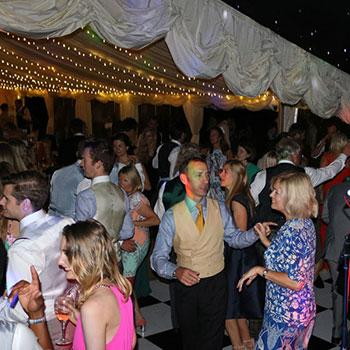 Dancing At Wedding Disco