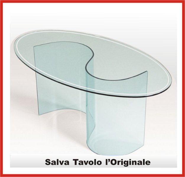 protezione tavoli in cristallo e legno su misura realizzato a mano con Hard Flex cristallino visita salvaparquet it