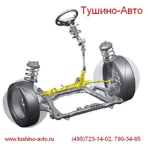 Ремонт рулевой рейки гидроусилителя руля, гур, Тушино-Авто, www.tushino-avto.ru