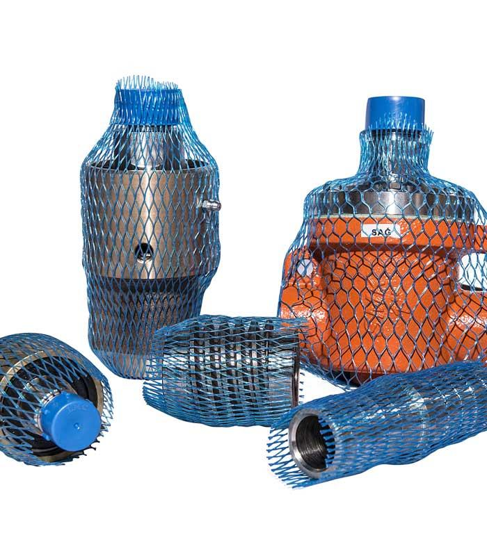 Plastic Protection Nets for Industrial Parts
