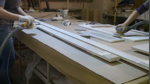 Möbelbearbeitung