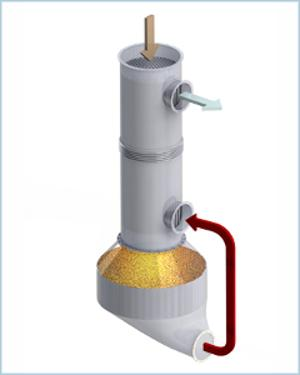 Katalytische Nachverbrennung (KNV)