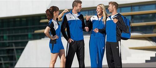 Team-, Sport- und Freizeitkleidung