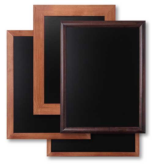 Holz-Wand-Kreidetafeln