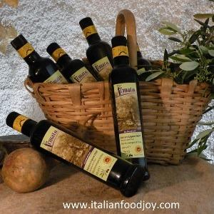 Extra virgin olive oil from Liguria, Italy