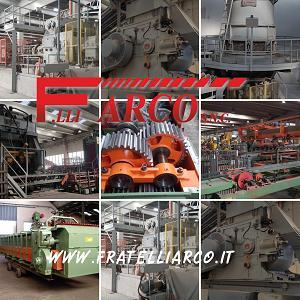 MACHINES AND EQUIPMENTS FOR THE BRICK INDUSTRIES - F.LLI ARCO S.N.C.