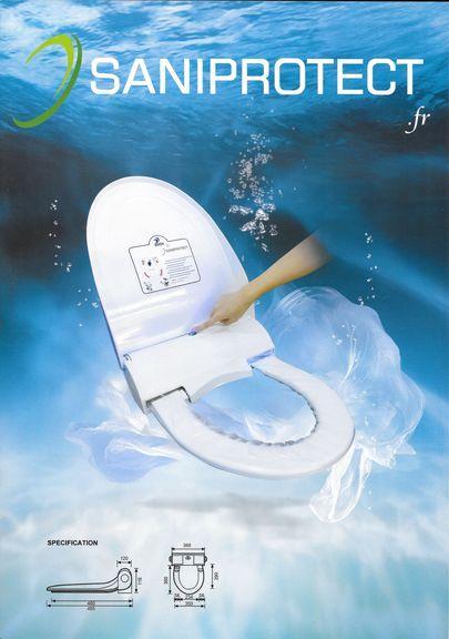 planche ou protection de lunette WC pour les toilette homme ou femme. Protege vos collaborateurs ou vos clients. Vos interlocuteurs seront sensibles à votre hygiène . Achetez plutot que de louer