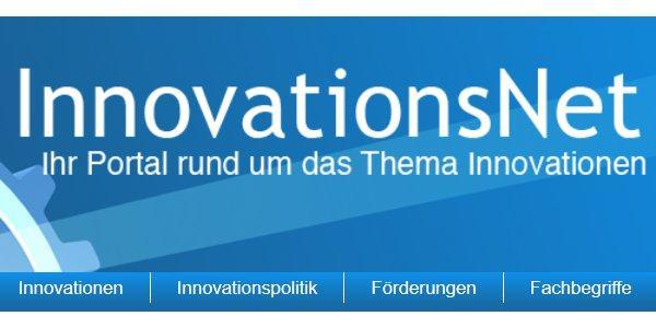 """Die Internetpräsenz """"InnovationsNet"""" enthält viele Artikel über Wissenschaft, Forschung und Technik. Im Dienstleisterverzeichnis von InnovationsNet können Unternehmer Einträge schalten."""