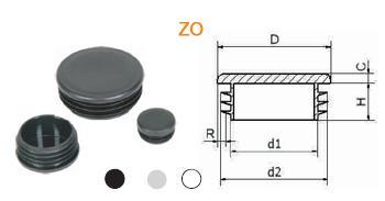 заглушки для различных профильных труб: круглые, квадратные, прямоугольные, овальные