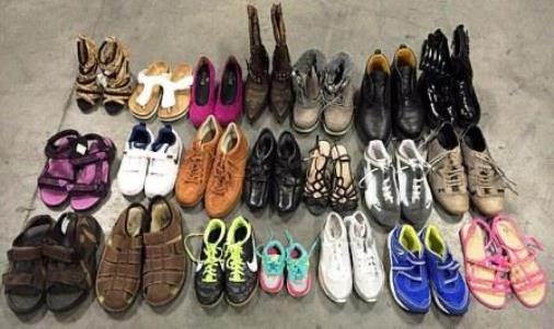 Second-hand shoes