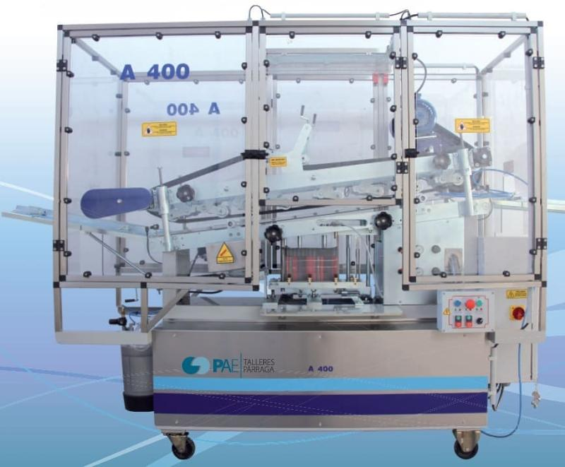 A-400 Cylindrical container rolling-can labelling machine