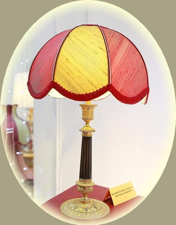 scalloped dome lampshade