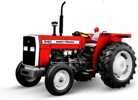 Massey Ferguson Tractor MF 240 (50HP) 2 Wheel Drive.