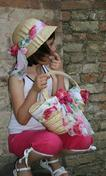 Produzione cappelli in paglia