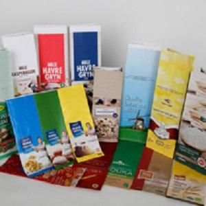 There is a possibility of making paper with individual printing on a label.  Minimal volume and price is determined individually.