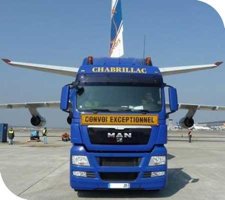 Specialist transport logistics for the aerospace and astrospace industries