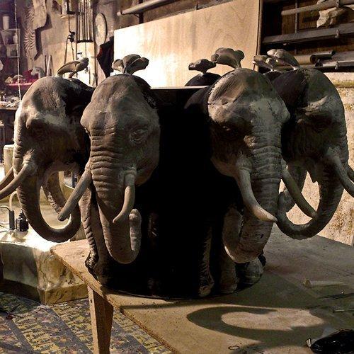 Elefantenbrunnen ca. 4,5m