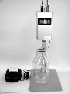 5025000 flowmeter (range 0.05-25.0 ml/min) with thermal printer
