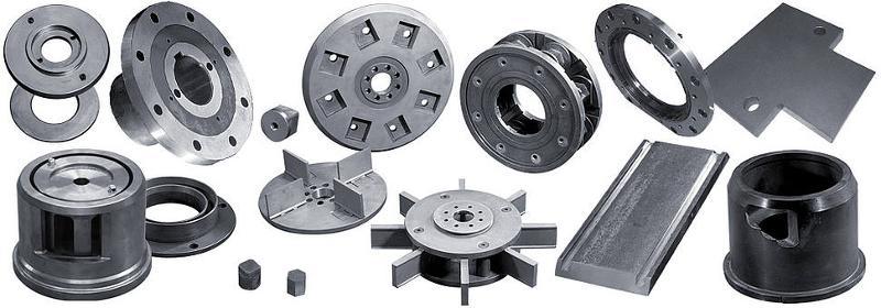 Ersatzteile für Strahlanlagen aus gehärtetem Werkzeugstahl