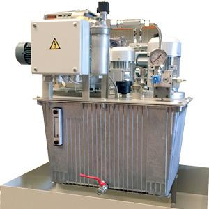 This range of hydraulic units covers a wide spectrum of power, capacity and pressure requirements while using a minimum number of very high quality hydraulic components.