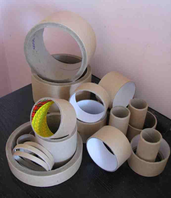 Paper tubes and cardboard cores