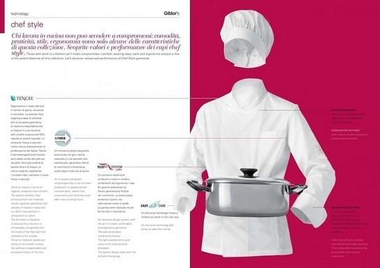 abbigliamento professionale per chef, cuochi e personale di cucina.
