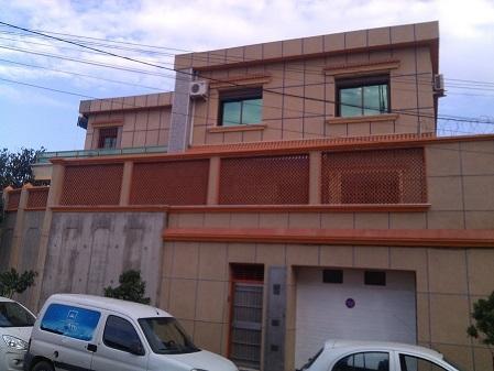 Siège social de la société Sometral, situé à El Mohhamadia à Alger, à proximité du port d'Alger et des plus importants bureau de douane de la capitale ainsi que des principales axes routiers.