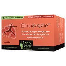 Circulymphe nouvelle formule santé verte