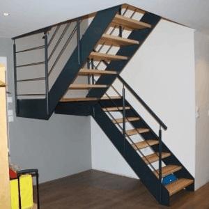 exemple d'escalier réalisé par TSEIN