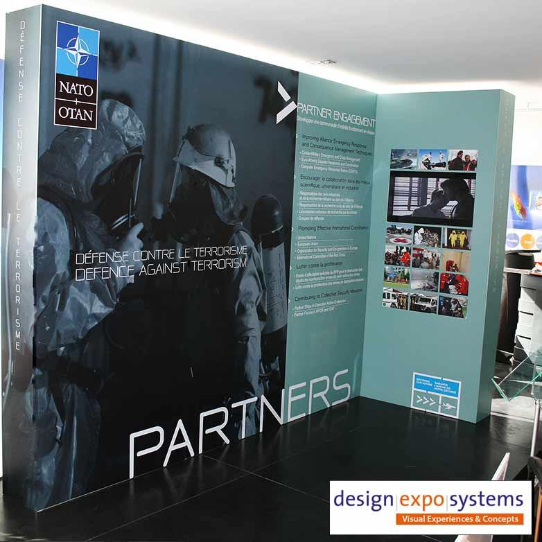 Trade Show Custom Stand Display