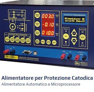 Gli alimentatori per protezione catodica della serie HT integrano il top della tecnologia switching con un controllo digitale a microprocessore in un prodotto studiato per rispondere in modo completo.