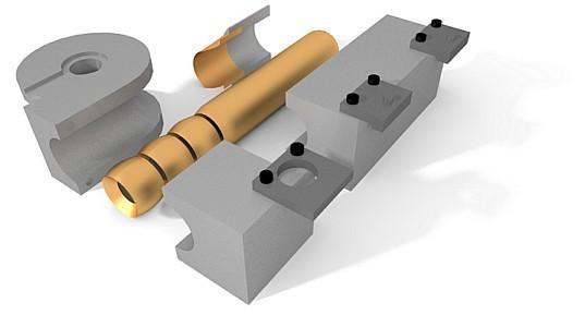 Tube bending tools (clamps, mandrels, bending dies, wiper-dies etc) for CNC tube bending machines: CRIPPA, BLM Group, AddisonMckee, Eaton Leonard