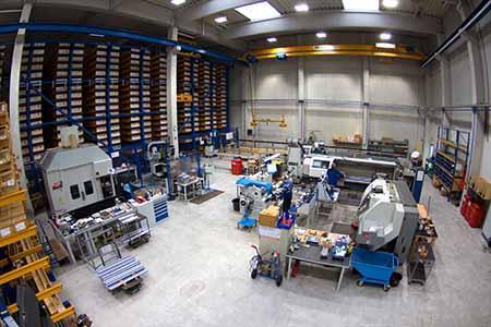 Laeppché verfügt über das größte Linear- Fertigungs- und Bearbeitungszentrum in Norddeutschland.