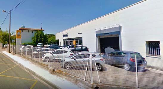 Vue du garage ETS Gasquet & Fils Renault