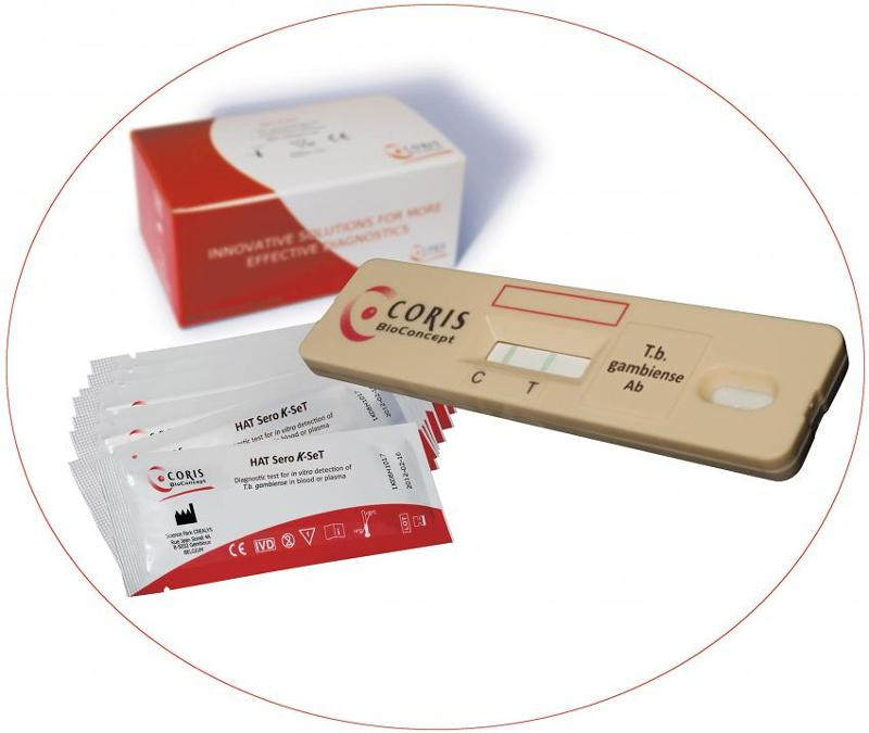 Rapid diagnostic test for in vitro detection