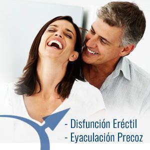 Tratamientos efectivos para la disfunción eréctil y eyaculación precoz (control eyaculatorio)